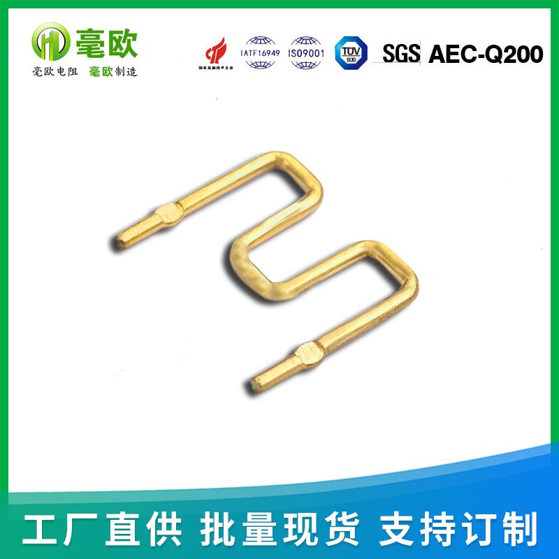 M型压脚型电阻