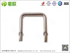 1.2mm 10mR康铜丝电阻 锰铜电阻 采样电阻 焊接电阻 功率电阻器