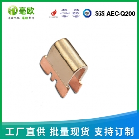 厂家供应锰铜分流器 插件分流器 分流采样电阻 FLQ60-65A-50mV